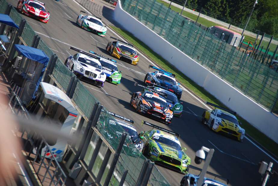 27.05.2017 Spa Francorchamps 1.Rennen internationale GT OPEN